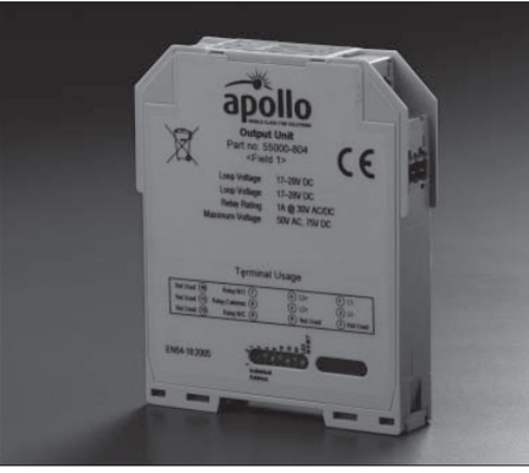 Apollo XP95 DIN Rail Sounder Control Unit 5 Amperes