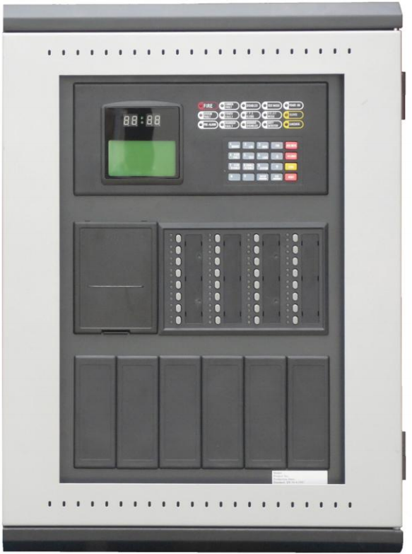 GST 2 loop Fire Alarm Control Panel