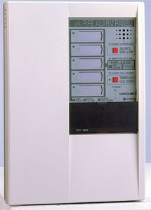 Fire alarm control panel 5 zone